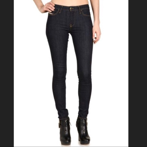 Diesel Women/'s Skinzee High Waist Grey//Black Skinny Jeans Size 24x32